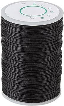 BQLZR - Rollo de cuerda lino para coser prendas de cuero y ...