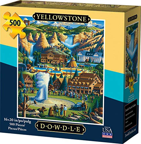 Dowdle Jigsaw Puzzle - Yellowstone National Park - 500 Piece
