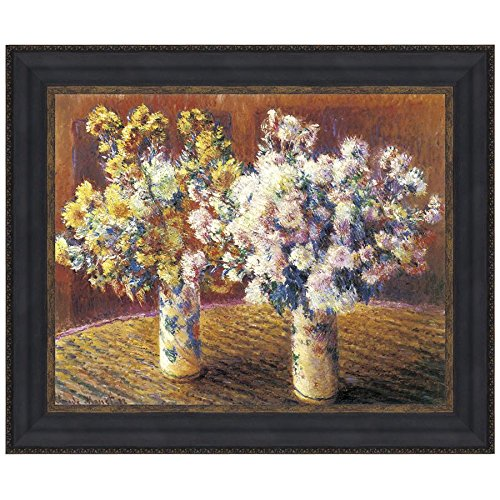 - Design Toscano Two Vases of Chrysanthemums, 1888: Canvas Replica Painting: Grande