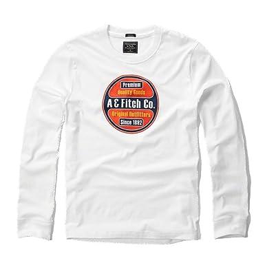 Abercrombie & Fitch para Hombre Applique Logo Graphic Camiseta de ...