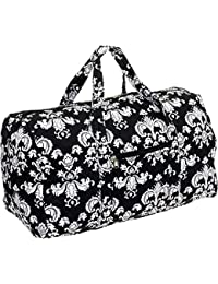 Weekender Bag - Quilted Carry on Duffel Bag by