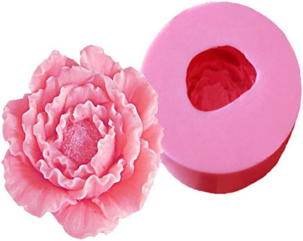 DIY 3D Flower Silicone Mold Fondant Cake Decorating Chocolate Sugarcraft Mould