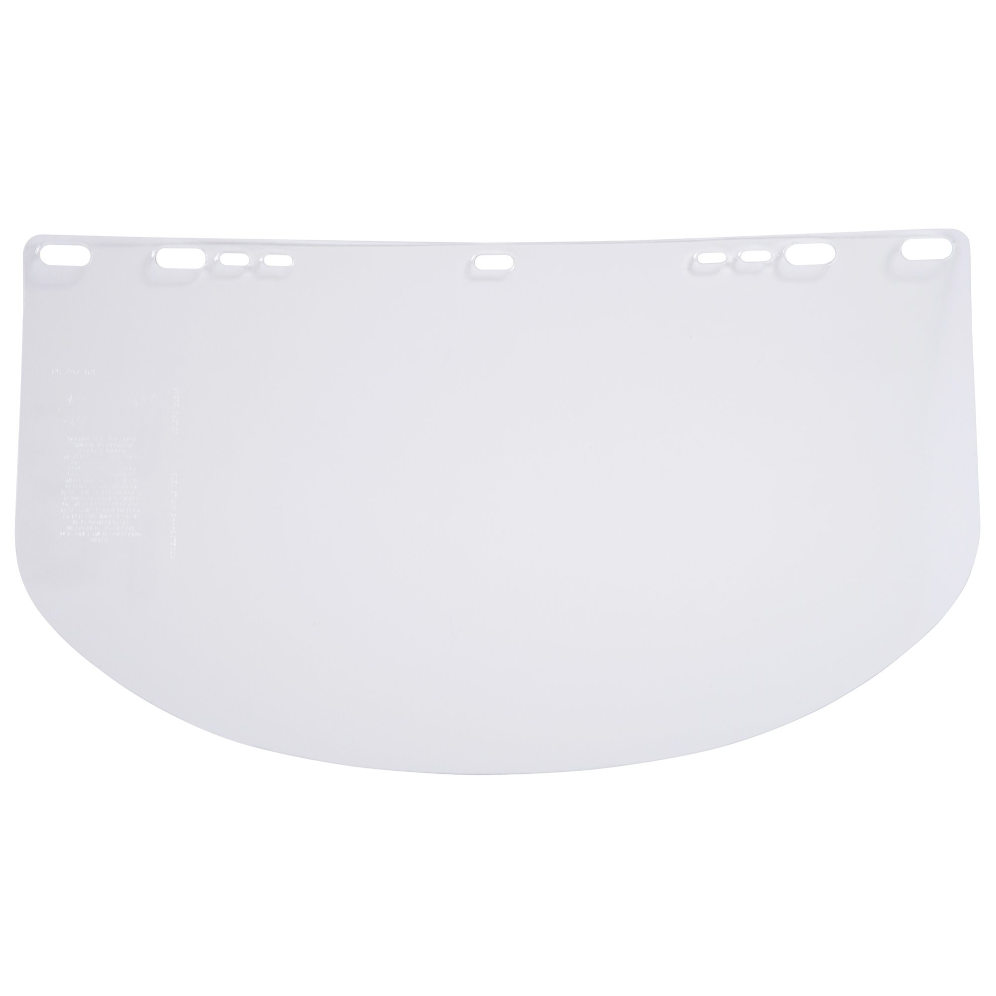 "Jackson Safety F10 PETG Face Shield (28963), 9"" x 15.5"" Clear, Unbound, Disposable Face Protection, 50 Shields / Case"