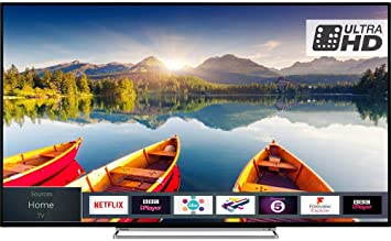 TOSHIBA 50 inch Smart 4K Ultra HD HDR LED TV (Resolution: 3840 x 2160) with Freeview HD with Freeview Play and Built-in WiFi (Certified Refurbished): Amazon.es: Electrónica
