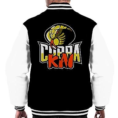 Cobra Kai Logo Karate Kid Men s Varsity Jacket  Amazon.de  Bekleidung 762ab3bbab