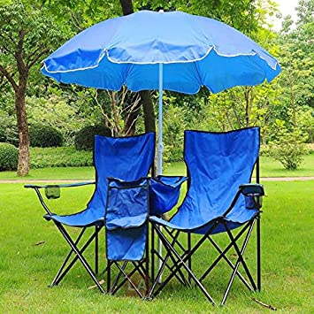 Pleasant Amazon Com Outdoor Garden And Patio Chair With Umbrella Uwap Interior Chair Design Uwaporg