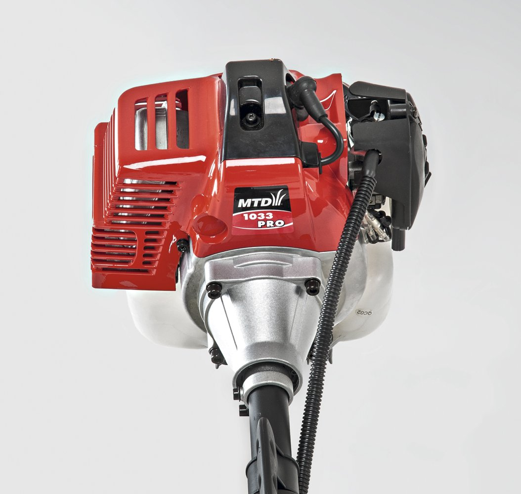 MTD 41AD7UXB678 Desbrozadora de Gasolina, Rojo, 33 cc ...