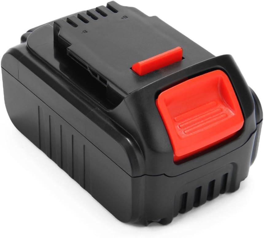Exmate 5.0Ah 18V batterie Li-ion rechargeable pour DEWALT DCB184 DCB204-2 DCB205-2 DCB181 DCB182 DCB183-XJ