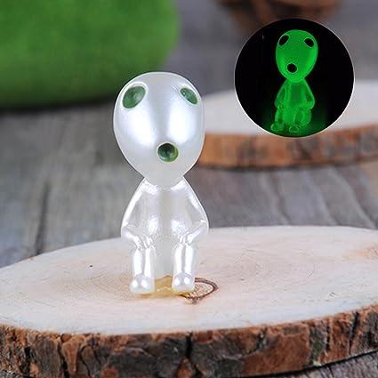 Cute Glow-in-the-dark jardinería maceta decorativo resina ...