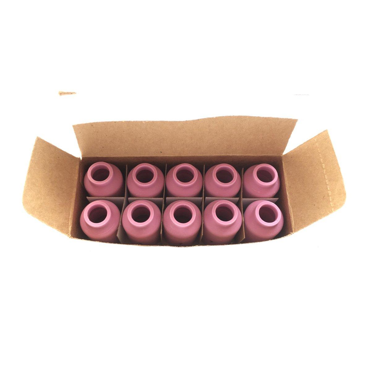 10pk 54/N15/soldador TIG linterna cer/ámica Shield Tazas # 7 al/úmina boquillas 17/18/26/series