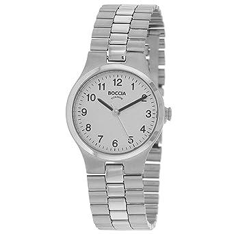 06 Quarz Titan Mit 3082 Uhr Boccia Analog Armband Damen QdCerxoWB