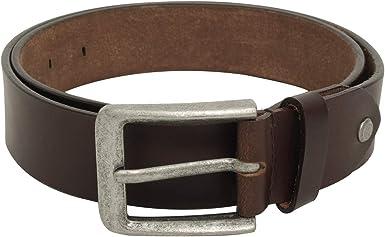 Gusti Cinturón de cuero marrón unisex Kara 2G114-26-12-115