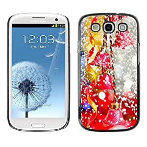 YOYO Slim PC / Aluminium Case Cover Armor Shell Portection //Christmas Holiday Decorations Mix 1300 //Samsung Galaxy S3