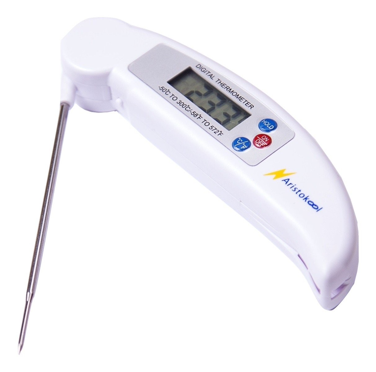 Aristokool Fast Accurate Digital Meat Thermometer - Instant Read High Performance BBQ Food