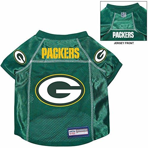Green Bay Packers Pet Dog Football Jersey Alternate MEDIUM