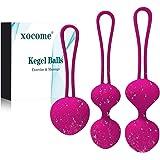 Kegel Ball Kit Massager Benwa Ball for Female Pelvic Floor Exercise Kegel Exercise Weightlifting Kit Doctor Suggested for Bla