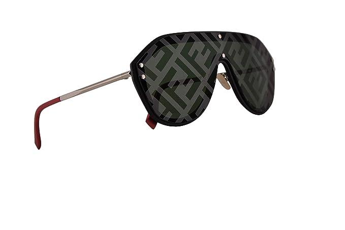 Amazon.com: Fendi FFM0039/G/S - Gafas de sol, color negro y ...