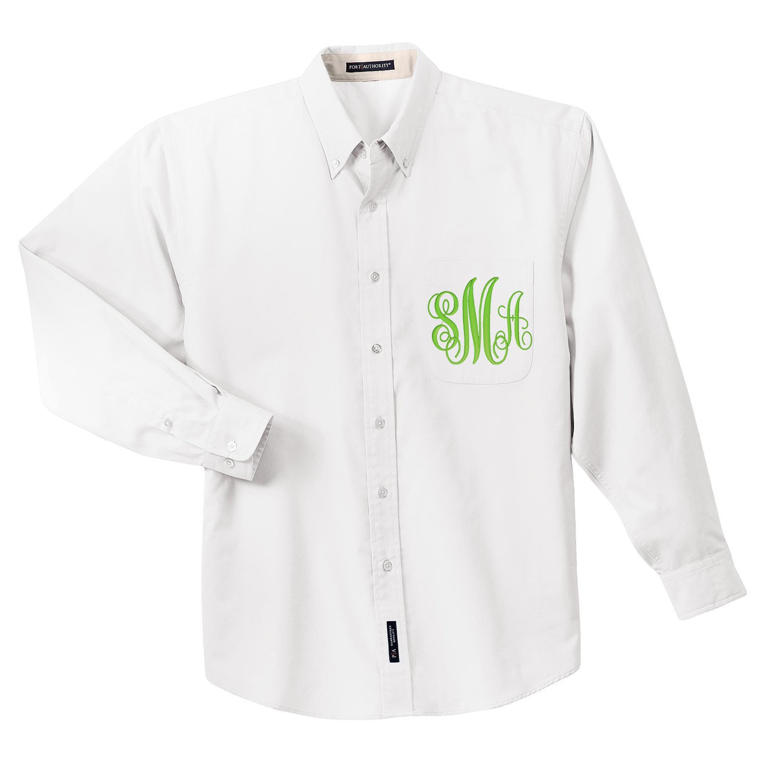 Monogrammed Button Down Shirts For Bridal Party Rldm