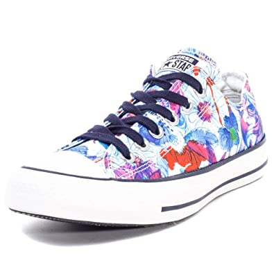 7a793440db56 Image Unavailable. Image not available for. Color  Converse Chuck Taylor  All Star Daisy Print Shoes - Spray ...