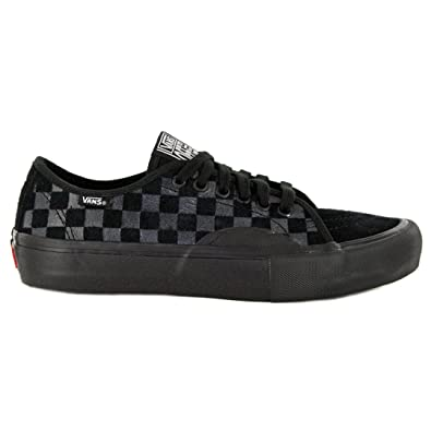 d3e0f132eb4 Image Unavailable. Image not available for. Color  Vans  quot AV Classic Pro  Hairy Suede Sneakers (Black) Mens Checkerboard Skate Shoes