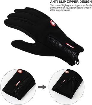 Touch Screen Windproof Waterproof Outdoor Sport Gloves Men Women Winter Glo   lq