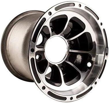 Silver Gazechimp 16x8-7 7 inch ATV UTV Wheel Rim 3 Holes Replacement for 50 70 90 110cc Quad Buggy Tires