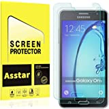 (2 Pack) Galaxy On5 Screen Protector, Asstar 0.3mm Ultra Thin 9H Hardness 2.5D Round Edge Anti-Scratch, Anti-Fingerprint, Bubble Free for Galaxy On5 G550