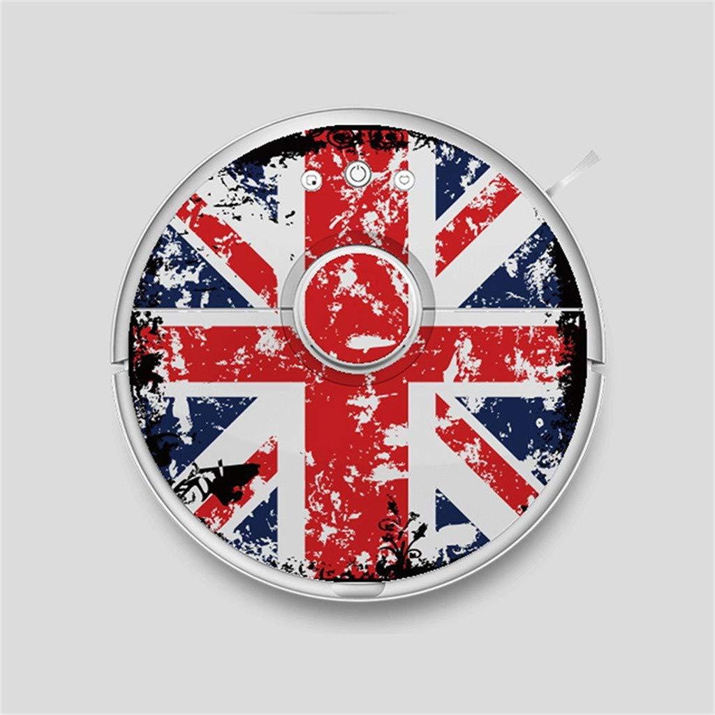 Pegatina Vinilo Roborock S50 Bandera Reino Unido