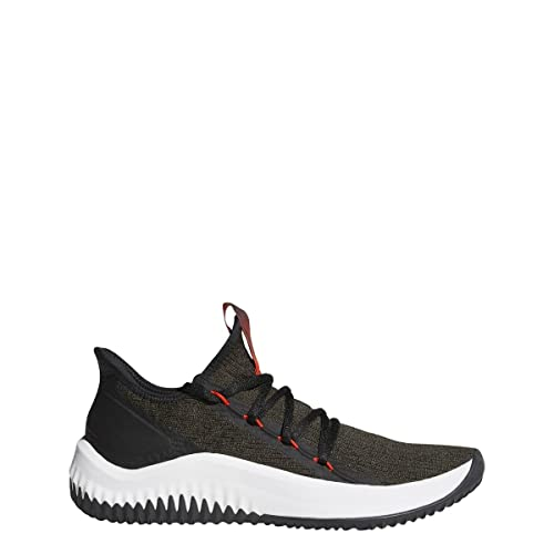 timeless design d4881 fbf4f adidas Dame D.O.L.L.A. Shoe Men s Basketball 7.5 Night Cargo-Core Black-Hi  Res Red