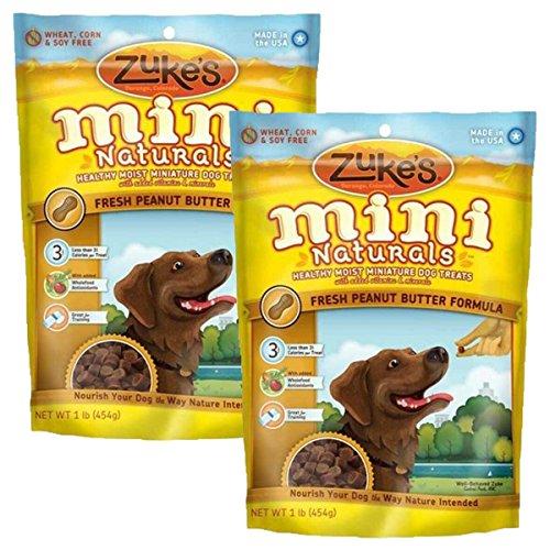 Zuke's Mini Naturals Dog Treats Peanut Butter 2 lb (Zukes Mini Naturals Peanut Butter)