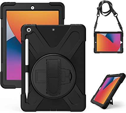 Gerutek Case For New Ipad 10 2 Inch Shockproof Robust Computers Accessories