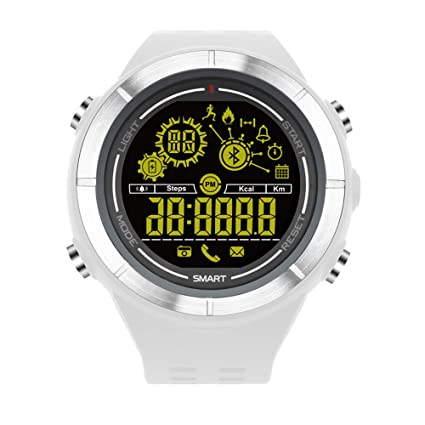 Oasics - Pulsera de Fitness, Reloj Inteligente para Hombre y Mujer, información EX32 Que