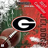 Georgia Bulldogs 2017 Calendar