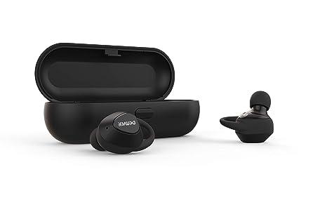 Denver TWE-51 Auriculares Bluetooth In Ear Binaural Inalámbrico Negro: Amazon.es: Electrónica