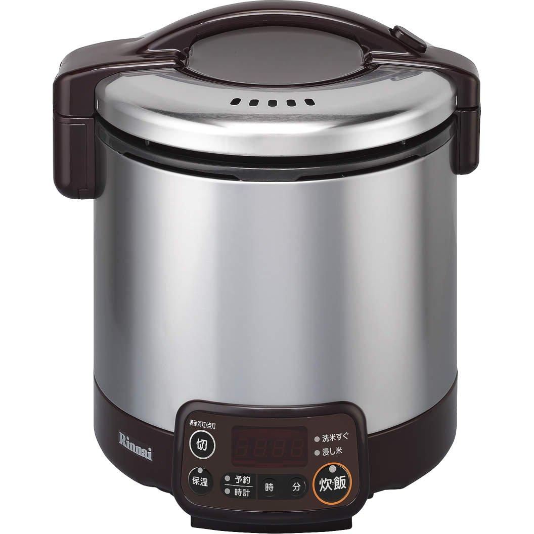 リンナイ こがまる タイマージャー付きガス炊飯器 5合炊きダークブラウン都市ガス13A用 RR-050VMT(DB) 13A   B00NKAA0IO