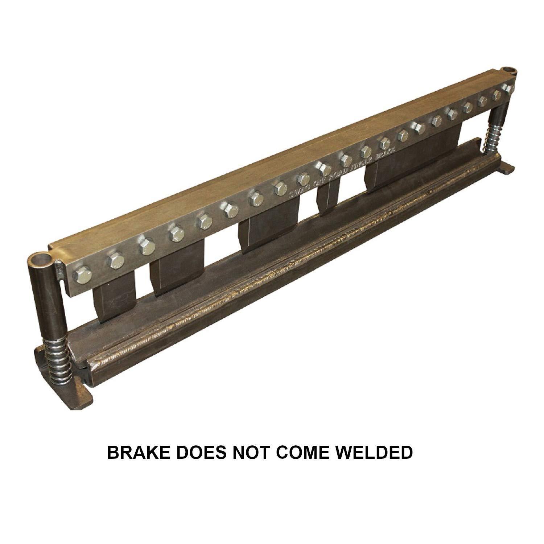 SWAG Off Road 50'' Finger Press Brake DIY Builder Kit with Adjustable Back Stop.