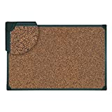 Universal 43023 Tech Cork Board, 48 x 36, Cork, Black Frame