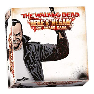 The Walking Dead: Here\'s Negan! Board Game, Multicolor: Toys & Games [5Bkhe1002636]