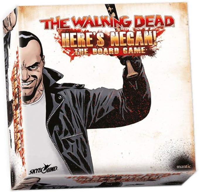 Mantic Entertainment Skybound The Walking Dead Heres Negan Board Game - English: Amazon.es: Juguetes y juegos