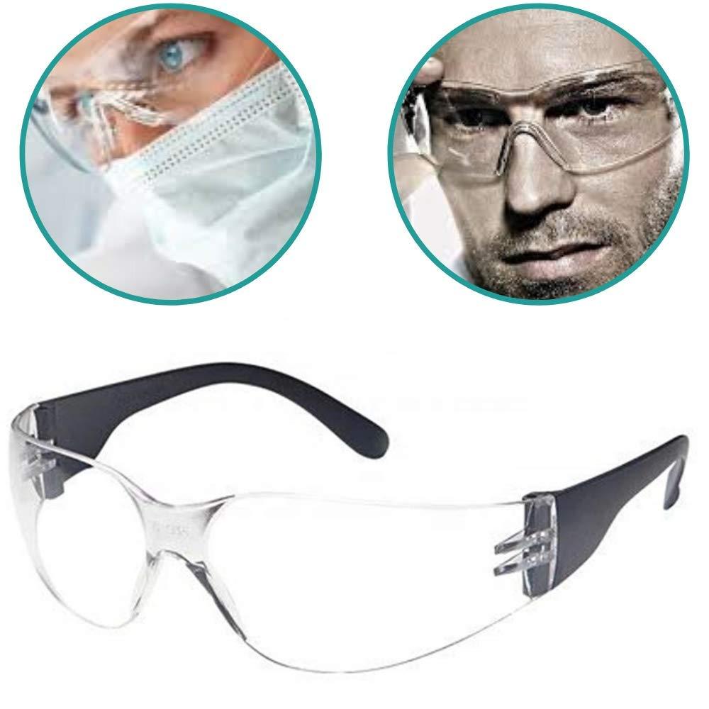 Lunettes de protection de travail Lunettes transparentes Dispositifs de protection individuels pour Pro