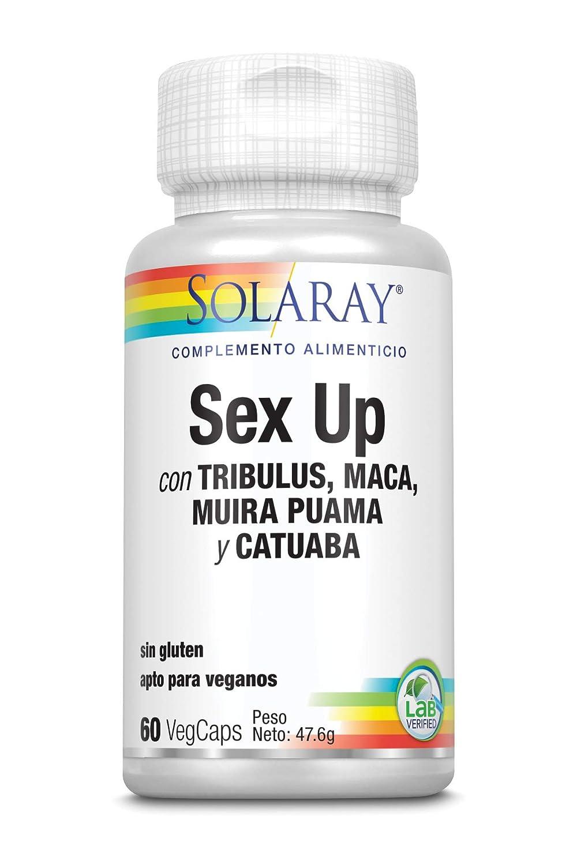 Solaray Sex Up | Libido saludable, vitalidad, resistencia y rendimiento para hombres y mujeres | 60 VegCaps