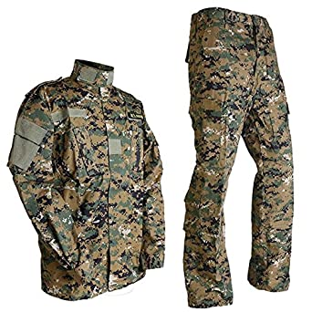 Bekleidung Woodland Kinder Outdoor Kombi Weste Hose camouflage Outdoor Militär US Army Angelsport