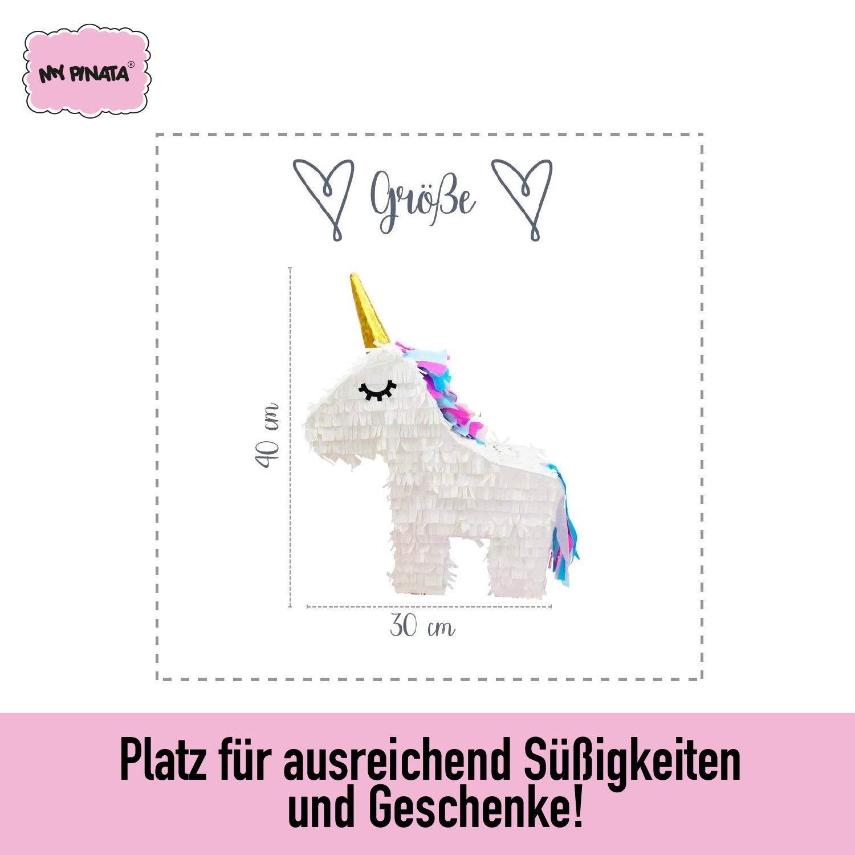 d2174822d5ffac Pinata Einhorn zum Befüllen mit Süßigkeiten - perfekt für den  Kindergeburtstag, als Geschenkidee oder als Hochzeitsspiel: Amazon.de:  Spielzeug