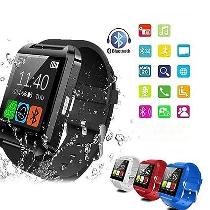 Amazon.com: Bluetooth Smart Watch - Kikole Multifunction ...