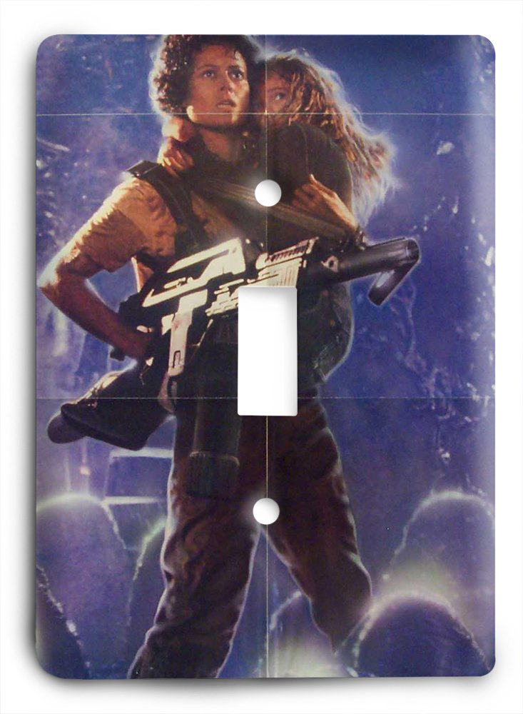 Aliens Movie Poster Light Switch Cover