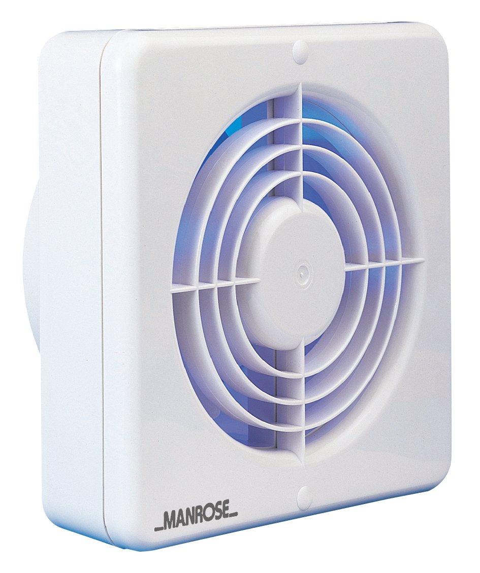 Standard 6/Zoll Manrose Abzugsventilator K/üche 150/mm