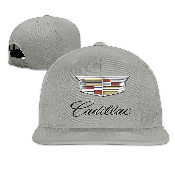 9f1374997b40e Amazon.com  BACADI Unisex Cadillac Logo Flat Baseball Caps Hats  (7462288141517)  Books