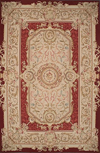 Hand Woven Aubusson Tapestry (Ecarpetgallery Hand-woven French Tapestry Aubusson 12'0