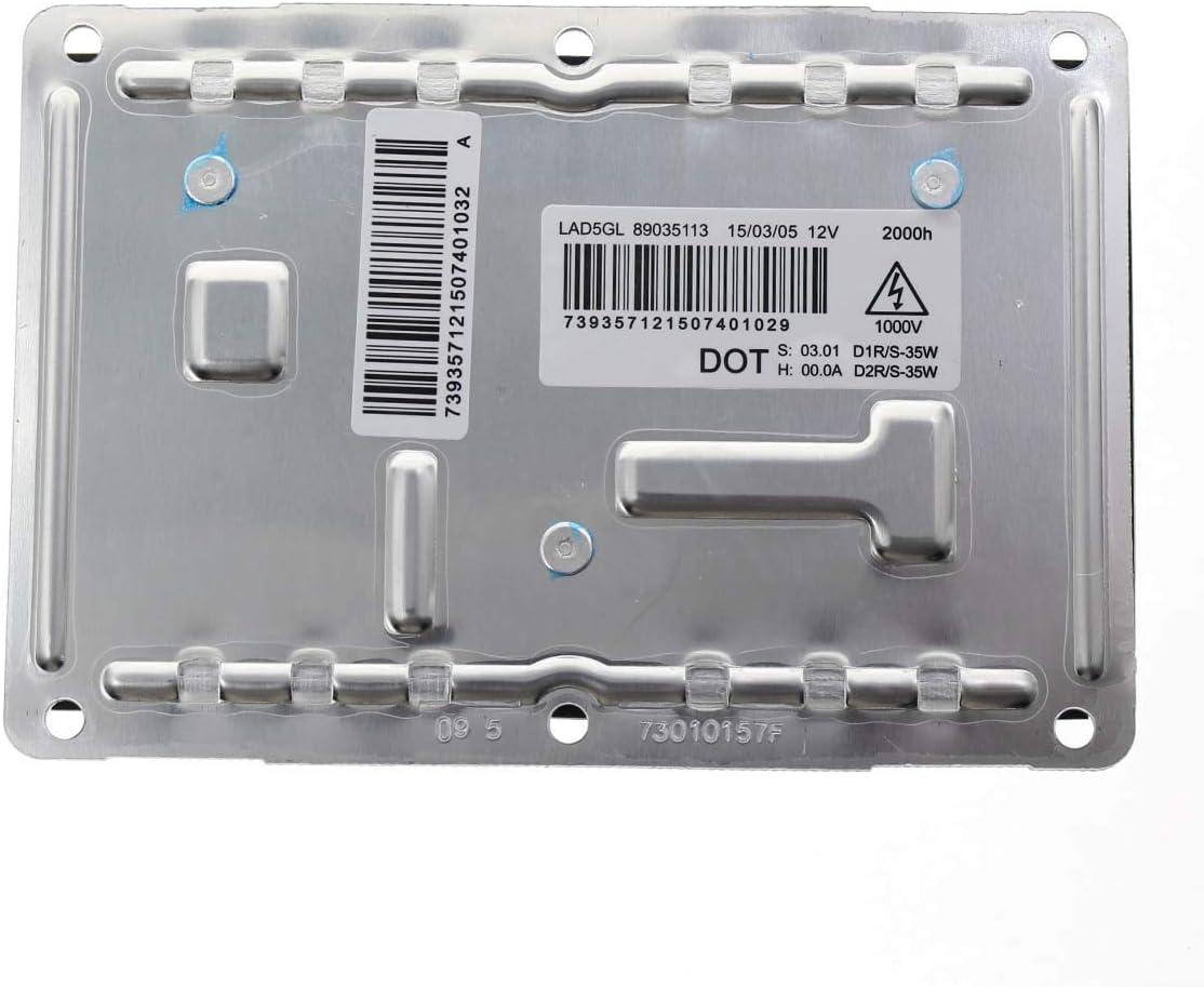 QKPARTS 4 PIN 12V D1S D2S XENON HID BALLAST For LAD5GL Valeo Fits Audi VW Volvo NEW