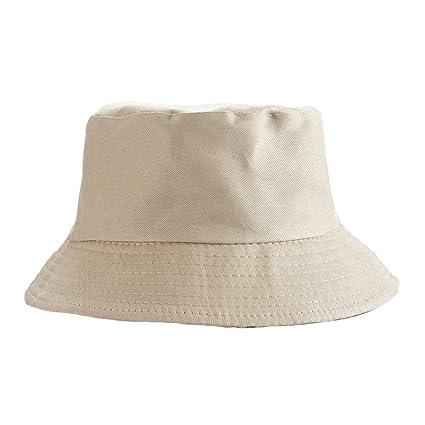 Amazon.com  FelixStore Lovers Double Sided wear Bucket hat Retro ... dd548e9d089c